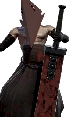 Custom Modded Pyramid_Head Series:Silent_Hill Style:Nightmare // 256x384 // 173.6KB