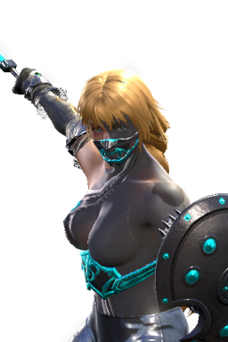 Alternate Cyborg Modded Series:Soulcalibur Sophitia Style:Sophitia Unbreakable_Parts // 256x384 // 196.8KB