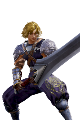 Cloud_Strife Custom Series:Final_Fantasy Style:Siegfried // 256x384 // 189.0KB