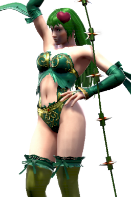 Custom Rydia Series:Final_Fantasy Style:Ivy // 256x384 // 216.9KB