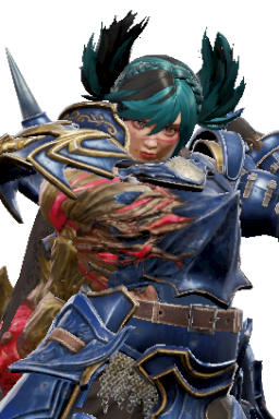 Alternate Custom MattGamer Series:Soulcalibur Style:Tira Tira // 256x384 // 357.1KB