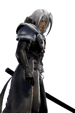 Custom Sephiroth Series:Final_Fantasy Style:Siegfried // 256x384 // 155.0KB