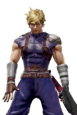 Cloud_Strife Custom DLC Series:Final_Fantasy Style:Siegfried // 256x384 // 232.2KB