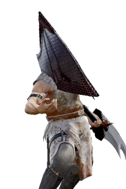 Pyramid_Head Series:Silent_Hill Style:Nightmare // 256x384 // 177.1KB