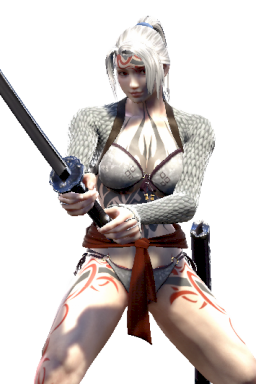 Breakable Custom Edited Import Master_of_Melee_Armaments Series:Libra_of_Soul Series:Soulcalibur Style:Mitsurugi // 256x384 // 238.7KB