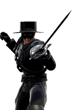 Alternate Raphael Series:Legend_of_Zorro Series:Soulcalibur Style:Raphael Zorro // 256x384 // 101.0KB