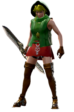 Custom Linkle Series:Legend_of_Zelda Style:Groh // 256x384 // 138.6KB
