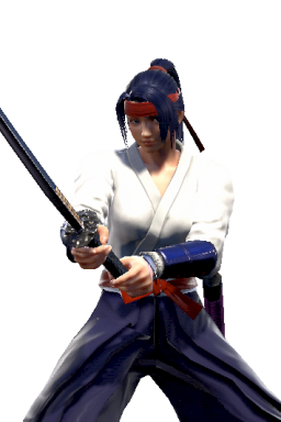 Custom Kasumi Series:The_King_Of_Fighters Style:Mitsurugi // 256x384 // 166.0KB