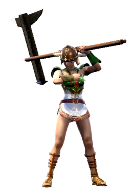 Invisible_Weapon Modded Series:Soulcalibur Style:Siegfried WOVOMA // 256x384 // 107.1KB